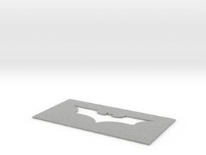 Batman Mat in Metallic Plastic