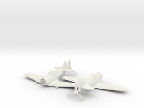 1/200 CAC Boomerang x2 in White Natural Versatile Plastic