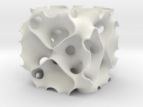 SBA-1x50 in White Natural Versatile Plastic