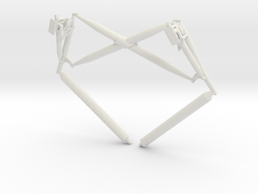 Truss AssemblyLanding gear cross brace in White Strong & Flexible