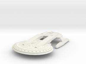 Star Class HvyCruiser in White Natural Versatile Plastic