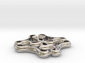 Knot Pendant in Platinum