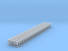 WIA buffers (25 x 4 pack) in Smooth Fine Detail Plastic