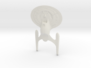 Max Class Destroyer in White Natural Versatile Plastic