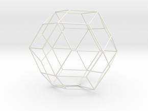 Icositetraedrdeltoidal1 in White Strong & Flexible
