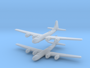 B-29 Superfortress (United States) 1/600-(Qty. 2) in Smooth Fine Detail Plastic