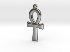 Ankh Pendant Copy in Polished Silver