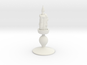 Impcandle in White Natural Versatile Plastic