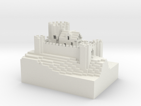 Kiang Castle[sml].wrl in White Strong & Flexible