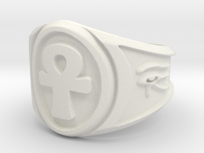 Ring-Popper-Size-11 in White Natural Versatile Plastic