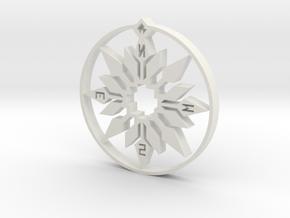 Design 467 TTT in White Natural Versatile Plastic