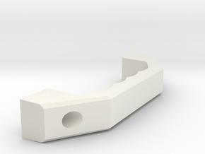 Boutet Handle 10436 in White Natural Versatile Plastic