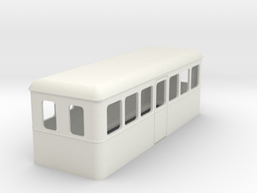 009 cheap and easy bogie railcar 24 in White Natural Versatile Plastic