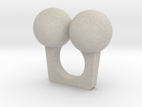 Cherry Ring in Natural Sandstone