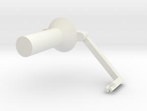 PrintrbotSpoolHolder in White Natural Versatile Plastic