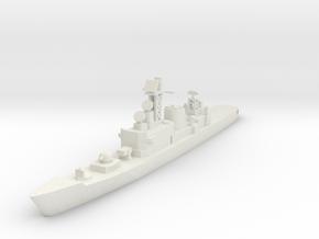 Hatakaze 1:700 X1 in White Natural Versatile Plastic