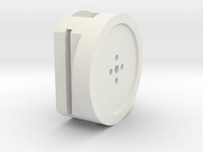 BMGimbal Inner Tilt in White Natural Versatile Plastic