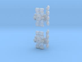Drehgestell T3, T3D und T4D 1:160 in Smooth Fine Detail Plastic
