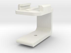 Gopro G Clam Modified in White Natural Versatile Plastic