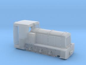 Französische Feldbahnlok Billard T100 Spur 0f 1:45 in Smooth Fine Detail Plastic