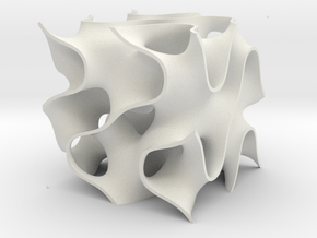 Srevised in White Natural Versatile Plastic