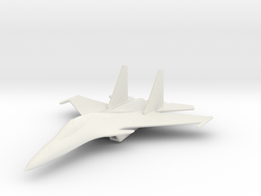 1/200 Scale SU-30  in White Natural Versatile Plastic