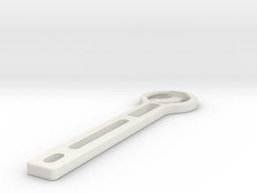 Garmin Mount for talon handlebars in White Natural Versatile Plastic