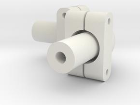 DSLR_90_angle_w_clamps in White Natural Versatile Plastic