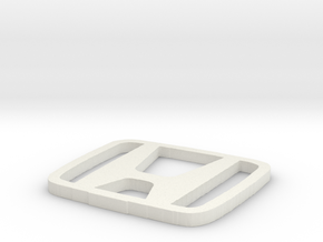 Honda Logo in White Natural Versatile Plastic