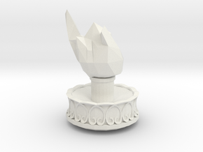 Statue in White Natural Versatile Plastic