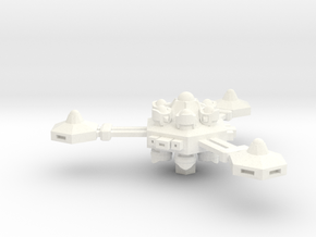 K-11 Space Station in White Strong & Flexible Polished