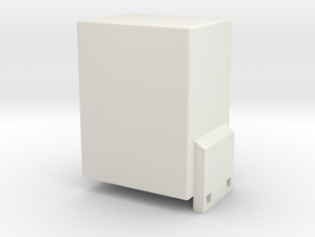 Extrcbox in White Natural Versatile Plastic