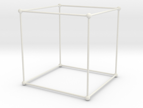 cubic structure in White Natural Versatile Plastic