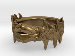 Beso Del Oro in Natural Bronze