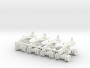 1/350 Iran / Iraq HY-2 (x4) in White Natural Versatile Plastic