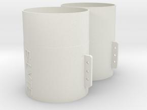 40-20E in White Natural Versatile Plastic