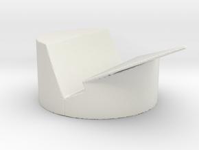 Iphone Houdertje in White Natural Versatile Plastic