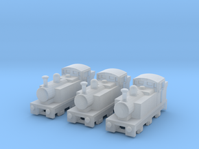 T-gauge Jinty Tank Engines - Uses Eishindo Wheels in Smooth Fine Detail Plastic