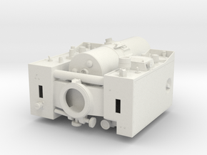 Geodimeter Model 6 1/4 scale for WSF in White Natural Versatile Plastic