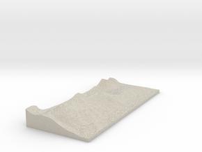 Model of Grange in Natural Sandstone