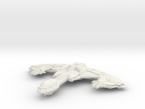 Fek'lhr Class Cruiser in White Natural Versatile Plastic