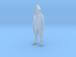 Miniature Captain Tweaked in Smooth Fine Detail Plastic