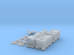 T-gauge Ivatt C1 class - Uses Eishindo Wheels in Smooth Fine Detail Plastic