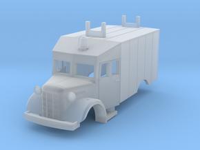 Austin K2  (Bellewagen 3) 1:87 in Smooth Fine Detail Plastic