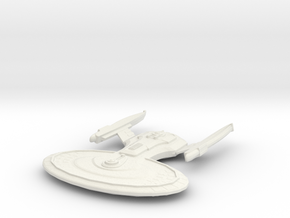 Ware Class Cruiser in White Natural Versatile Plastic