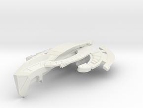 WarCat Class HvyCruiser in White Strong & Flexible