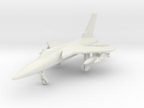 1/285 (6mm) F-105 Thunderchief  in White Natural Versatile Plastic