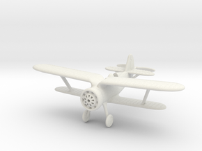 1/100 Polikarpov I-15 Chaika in White Natural Versatile Plastic