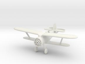 1/100 Polikarpov I-15 Chaika in White Natural Versatile Plastic