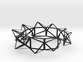 23 A Bransoletka X=82,567; Y=85,945; Z=29,287mm in Black Strong & Flexible